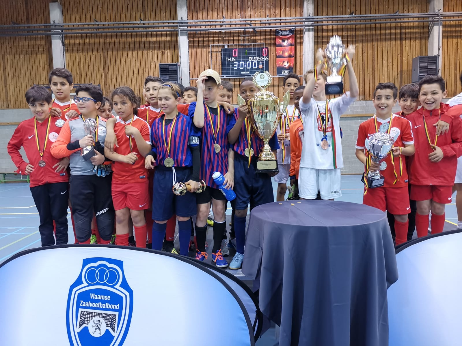 Indoor Soccer Challenge VILVOORDE-CUP 2020